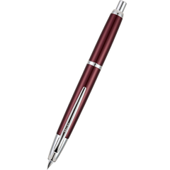 Pilot Vanishing Point Fountain Pen - Decimo Burgundy-Pen Boutique Ltd