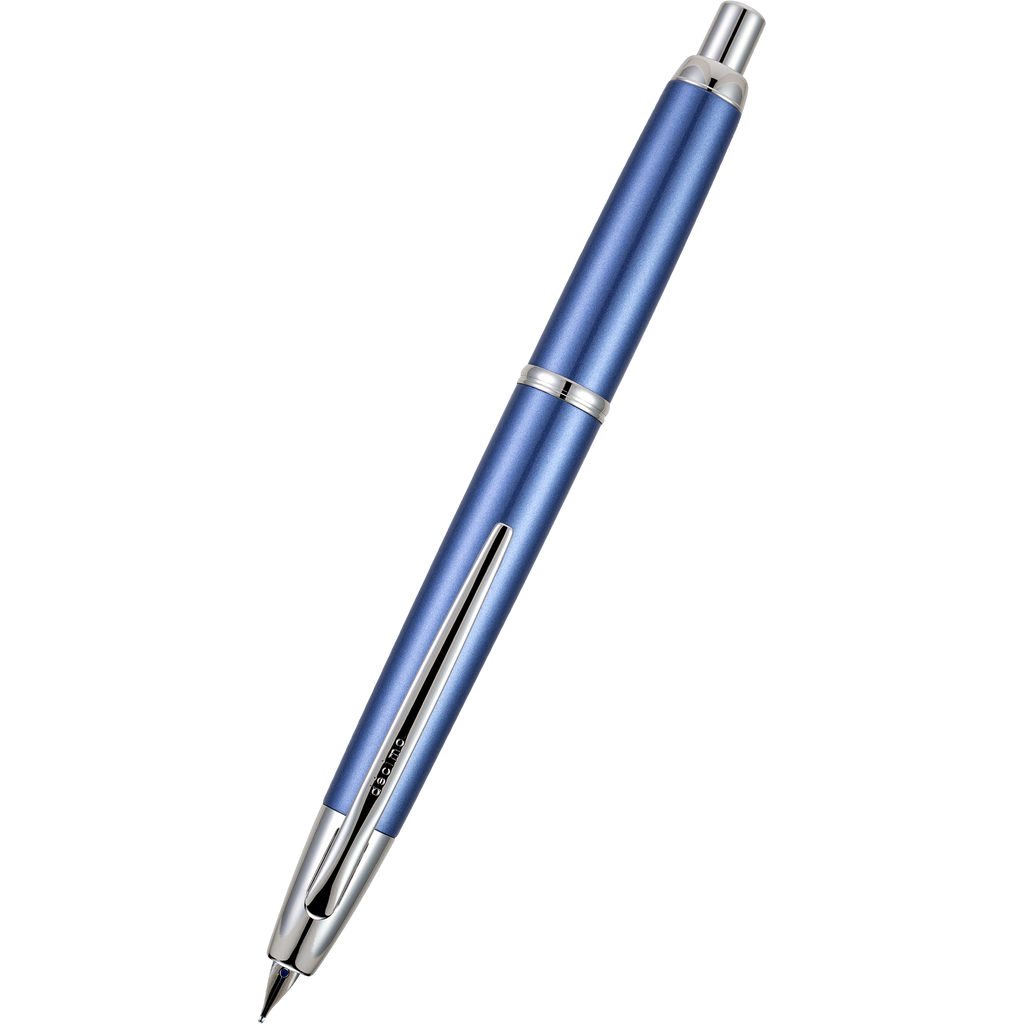 Pilot Vanishing Point Fountain Pen - Decimo Light Blue-Pen Boutique Ltd