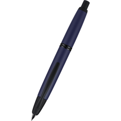 Pilot Vanishing Point Fountain Pen - Matte Blue-Pen Boutique Ltd