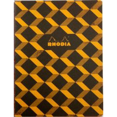 "Rhodia Heritage Sewn Spine Notebook - Escher Lined (A5 - 6"" x 8.24"")-Pen Boutique Ltd"