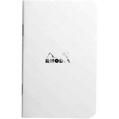 Rhodia Ice Side Stapled A7 Notebooks - Graph-Pen Boutique Ltd
