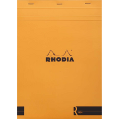 "Rhodia Soft Cover Stapled Notepad Orange The ""R"" 8-Pen Boutique Ltd"
