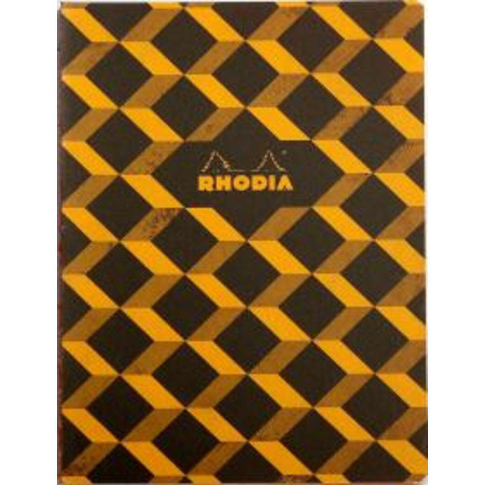 "Rhodia Heritage Book Block A5 Notebook 6"" x 8.25"" - Escher Graph"