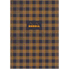 "Rhodia Heritage Book Block Notebook 9.75"" x 7.5"" - Tartan Graph - Limited edition"