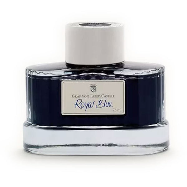 Graf Von Faber-Castell Design Royal Blue Ink Bottle
