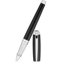 S T Dupont Line D Rollerball Pen - Black-Pen Boutique Ltd
