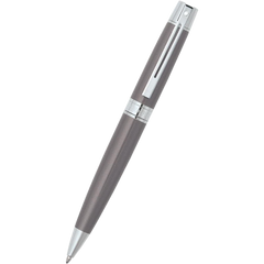 Sheaffer 300 Ballpoint Pen - Metallic Grey - Chrome Trim-Pen Boutique Ltd