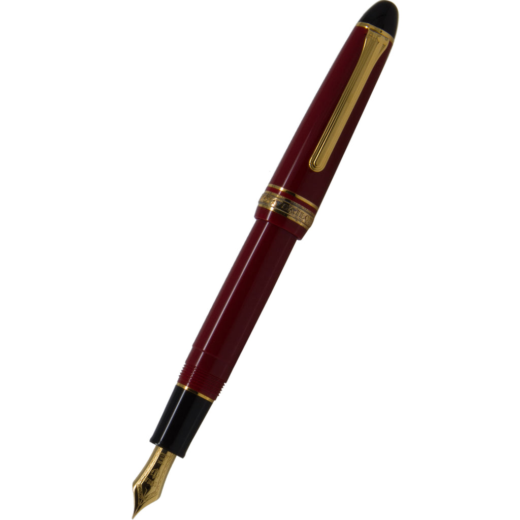 Sailor 1911S Fountain Pen - Red - Gold Trim-Pen Boutique Ltd