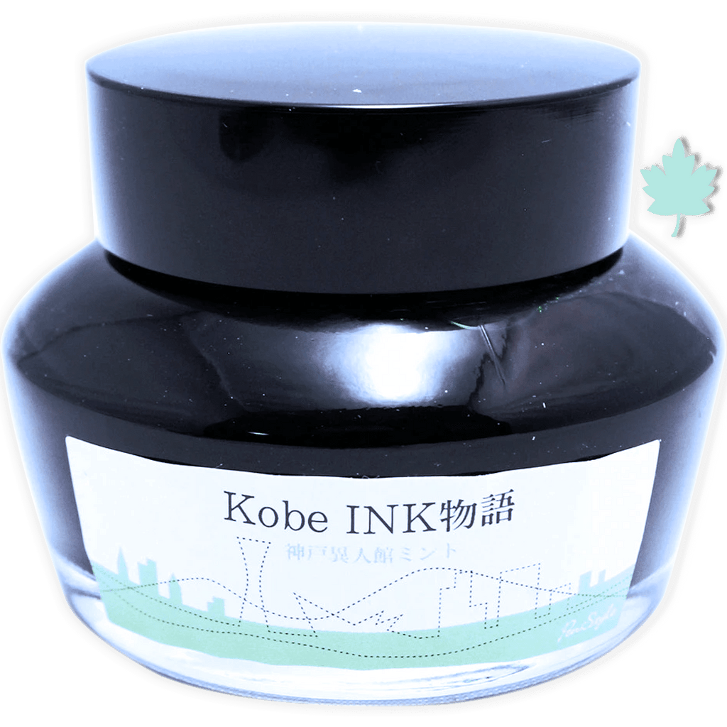 Sailor Nagasawa Kobe #60 Ink Bottle - Ijinkan Mint (Kitano Town Villa Mint) - 50ml-Pen Boutique Ltd