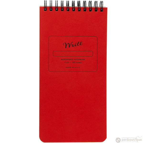 Write Notepads & Co. Notebook - Reporter - Red-Pen Boutique Ltd