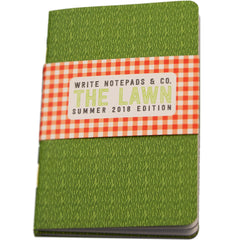 Write Notepads & Co. Pocket Notebook - The Lawn (Summer 2018 Limited Edition)-Pen Boutique Ltd