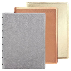 Filofax Saffiano Metallic A5 Notebook
