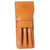 Aston Leather Tan Finger Style Triple Pen Case-Pen Boutique Ltd