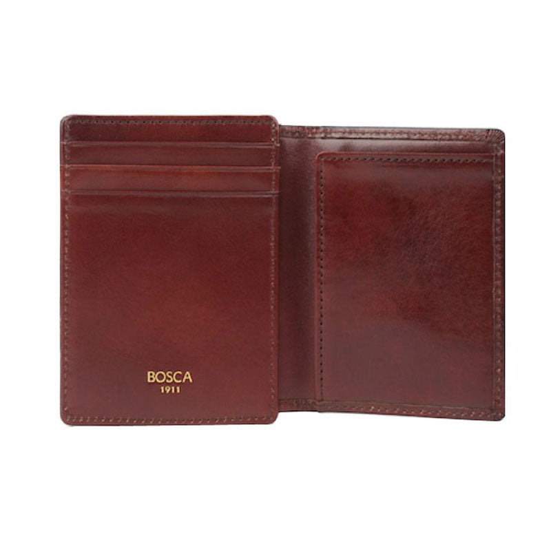 Bosca Front Pocket I.D. Wallet - Old Leather-Brown