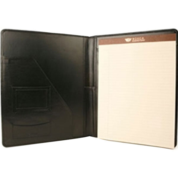 Bosca Leather Black Letterpad 1 x 12.5 x 9.5