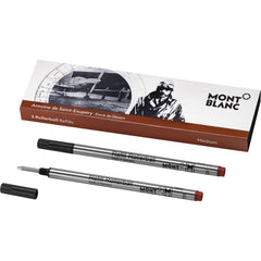 Montblanc Rollerball Refill - Writers Edition - Antoine de St. Exupery - Medium - 2 Pack
