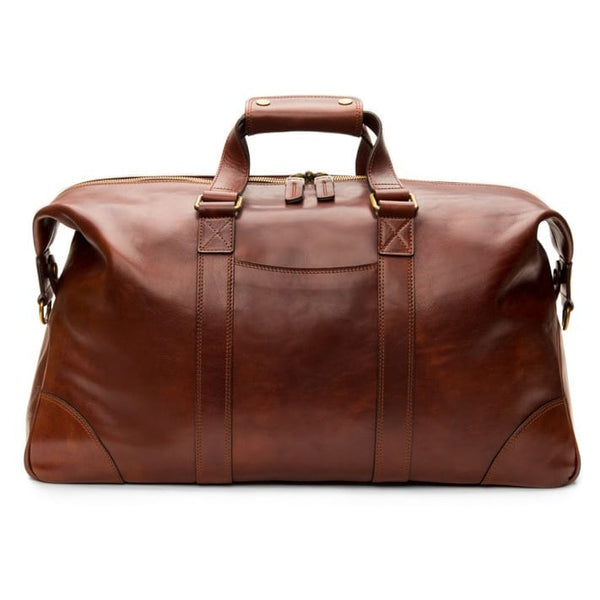 Bosca Old Leather Dolce Dark Brown Duffel