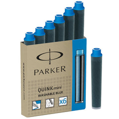 Parker Quink Blue Mini Cartridges