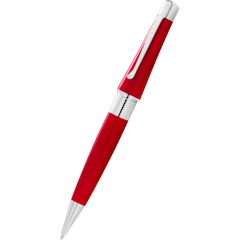 Cross Beverly Ballpoint Pen - Translucent Red-Pen Boutique Ltd
