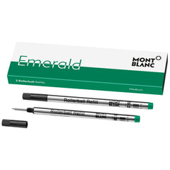 Montblanc  Rollerball Refill - Emerald Green - Medium - 2 per pack