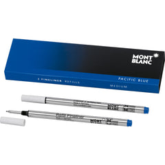 Montblanc Fineliner Refill - Pacific Blue - 2 Pack