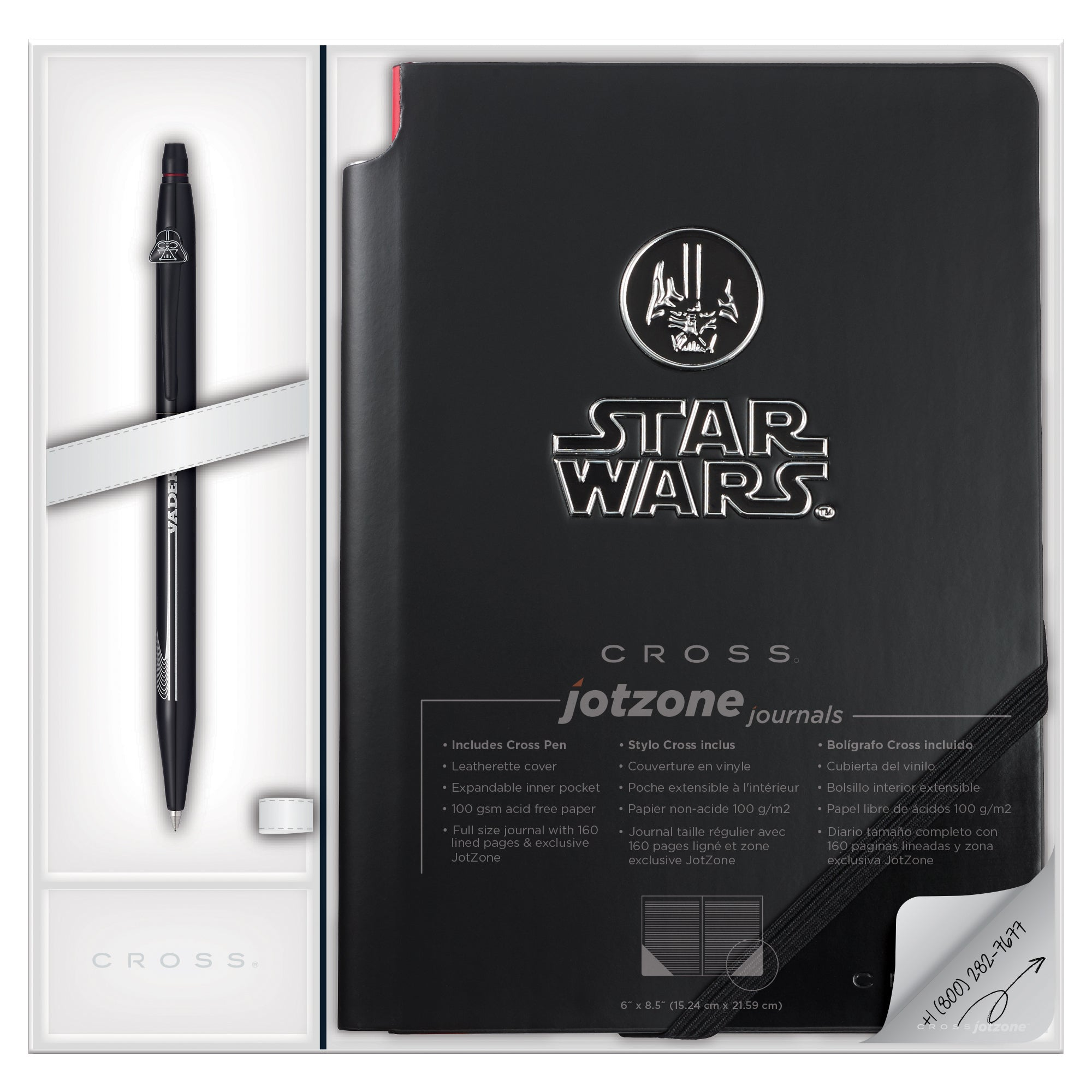 Cross Click/Jot Zone Star Wars Darth Vader Gift Set