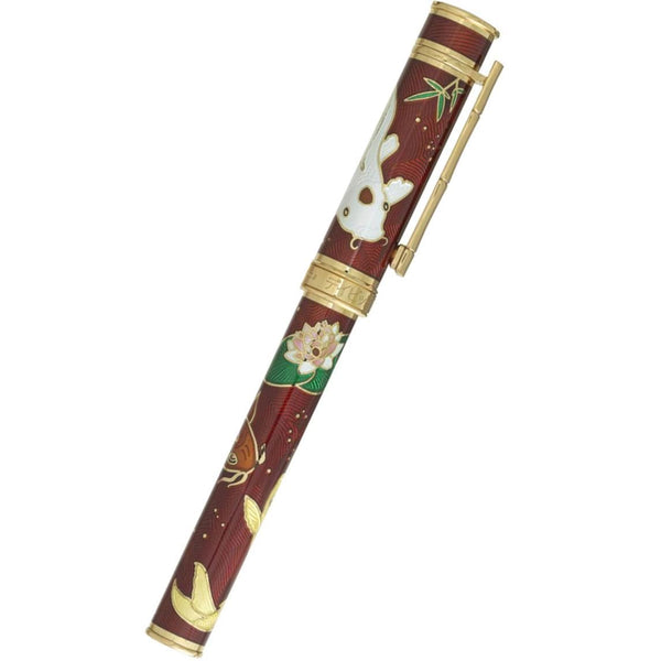 David Oscarson Koi Rollerball Pen - Ruby Red-Pen Boutique Ltd