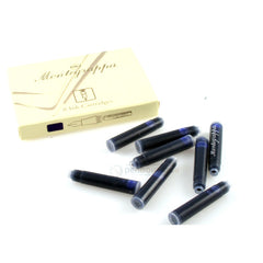 Montegrappa Blue Fountain Pen Ink Cartridges Refill-Pen Boutique Ltd
