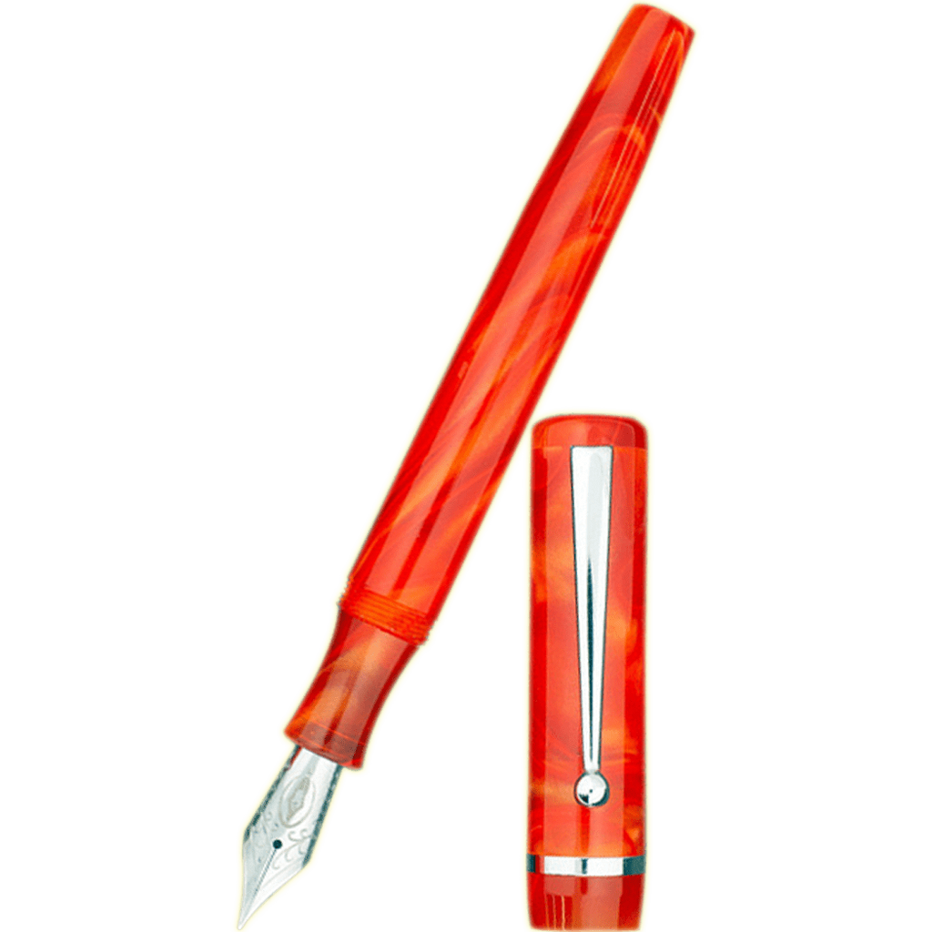 Edison Beaumont Fountain Pen - Fireball-Pen Boutique Ltd