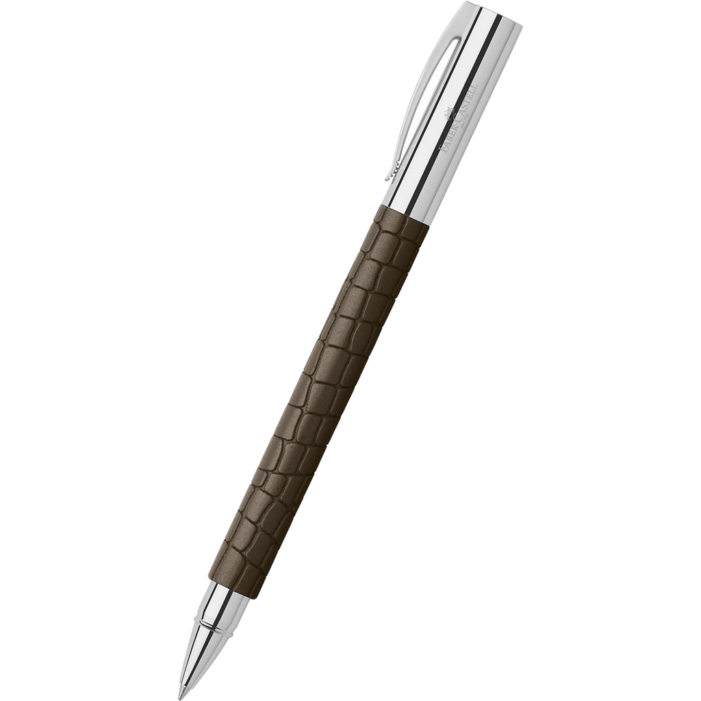 Faber-Castell Ambition Rollerball Pen - 3D Croco-Pen Boutique Ltd