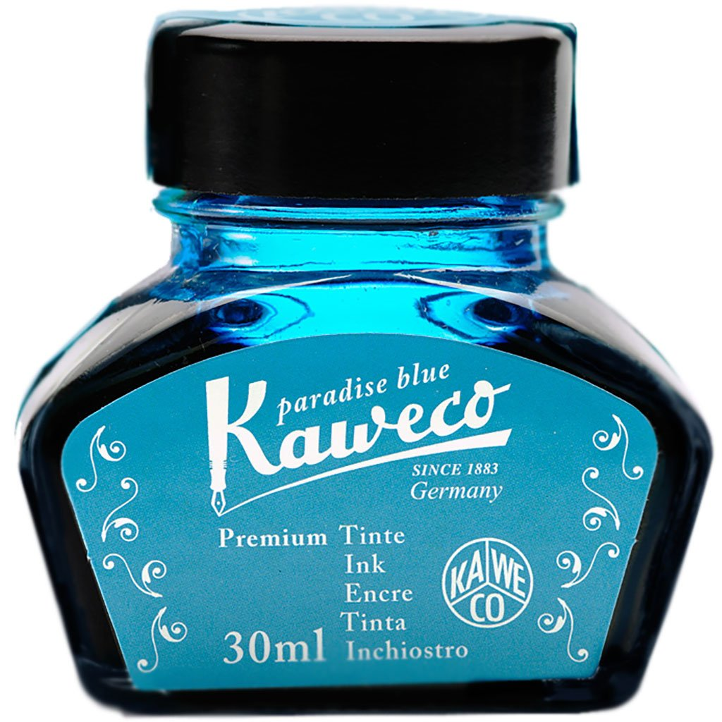 Kaweco Ink Bottle - Turquoise - 30ml-Pen Boutique Ltd
