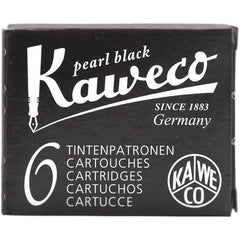Kaweco Ink Cartridges - 6 pieces - Black-Pen Boutique Ltd