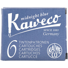 Kaweco Ink Cartridges - 6 pieces - Midnight Blue-Pen Boutique Ltd