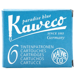 Kaweco Ink Cartridges - 6 pieces - Turquoise