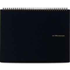 Maruman Mnemosyne Notebooks - Black - Grid - A4-Pen Boutique Ltd