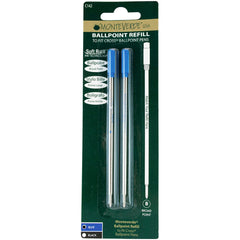 Monteverde Ballpoint refill to fit Cross pen - Blue Broad 2 per pack-Pen Boutique Ltd