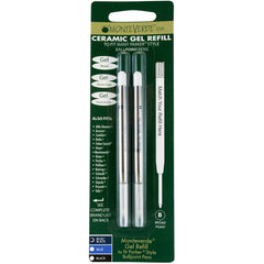 Monteverde Capless Ceramic Gel refill to fit Parker Ballpoint pen Blue/Black Broad
