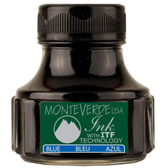 Monteverde Blue Ink Bottle - 90ML-Pen Boutique Ltd
