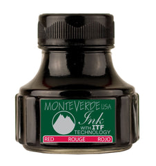 Monteverde Red Ink Bottle