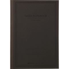 Oasis Notebook - Charcoal - Large-Pen Boutique Ltd