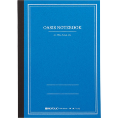 Oasis Notebook - Sky Blue - Medium-Pen Boutique Ltd