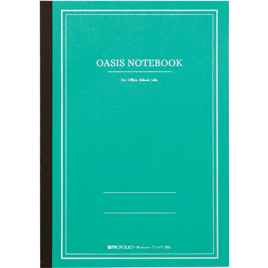 Oasis Notebook - Wintergreen - Large-Pen Boutique Ltd