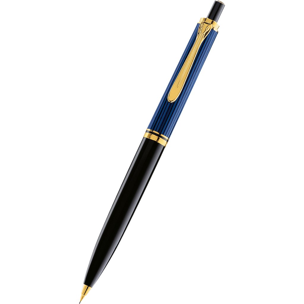 Pelikan Souveran Pencil - D400 Black/Blue-Pen Boutique Ltd
