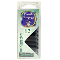 Private Reserve Cadillac Green Short Ink Cartridges 12 per pack-Pen Boutique Ltd