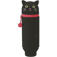 Punilabo Silicone Stand Up Pen Cases - Black Cat-Pen Boutique Ltd