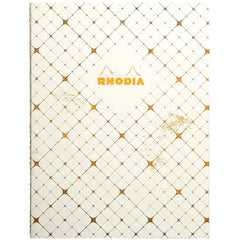"Rhodia Heritage Book Block Notebook 9.75"" x 7.5"" - Checkered Graph - Limited edition"