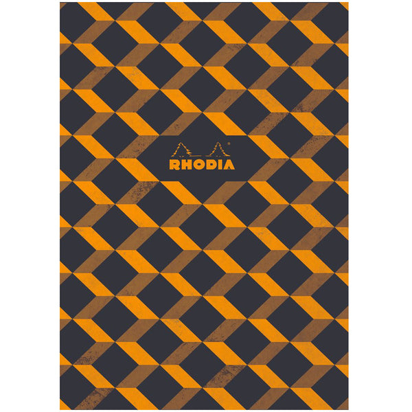 "Rhodia Heritage Book Block Notebook 9.75"" x 7.5"" - Escher Graph - Limited edition"