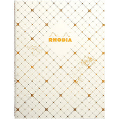 "Rhodia Heritage Sewn Spine Notebook 9.75"" x 7.5"" - Checkered Graph - Limited edition"