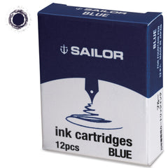 Sailor Jentle Blue Ink Cartridge-Pen Boutique Ltd