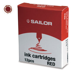 Sailor Jentle Red Ink Cartridge-Pen Boutique Ltd